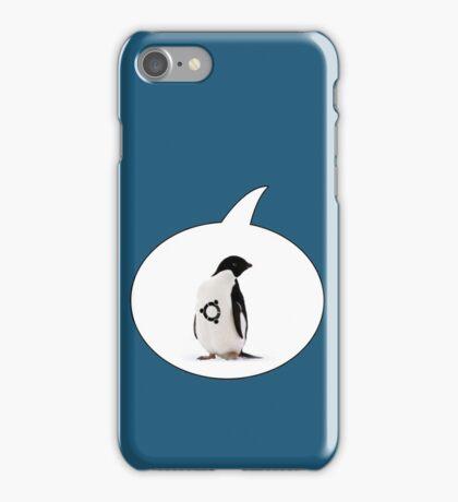 """""""Ubuntu"""" Penguin tattoo iPhone Case/Skin"""