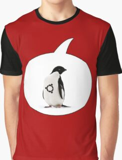 """Ubuntu"" Penguin tattoo Graphic T-Shirt"