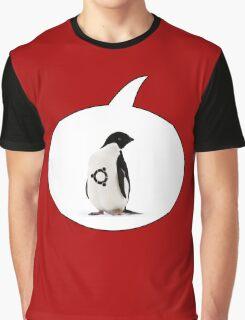 """Ubuntu"" Penguin tattoo Graphic T-Shirt"