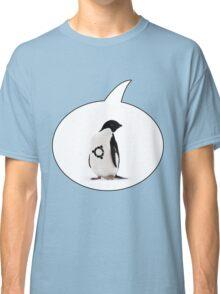 """Ubuntu"" Penguin tattoo Classic T-Shirt"