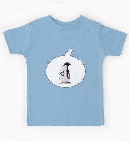 """Ubuntu"" Penguin tattoo Kids Tee"