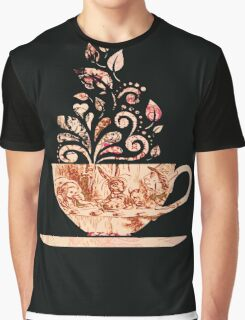 Alice In Wonderland Teaparty Graphic T-Shirt