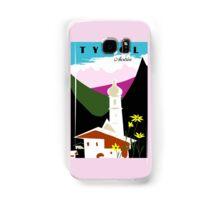 Retro vintage Tyrol Austria travel advertising Samsung Galaxy Case/Skin