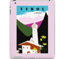Retro vintage Tyrol Austria travel advertising iPad Case/Skin