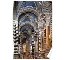 Siena Cathedral Interior Poster