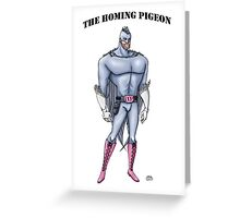 The Homing Pigeon Greeting Card