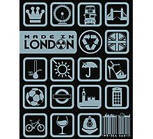 MADE IN LONDON Photographic Print