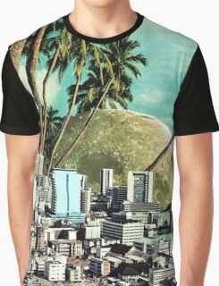 Paradise Lost, Vintage Collage Graphic T-Shirt