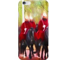 The Queens Life Guards on the Mall iPhone Case/Skin