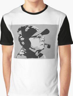 Tom Coughlin Portrait Graphic T-Shirt