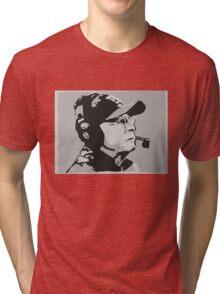 Tom Coughlin Portrait Tri-blend T-Shirt