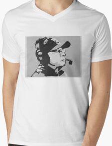 Tom Coughlin Portrait Mens V-Neck T-Shirt