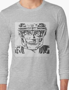 Eli Manning Portrait Long Sleeve T-Shirt