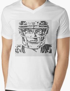 Eli Manning Portrait Mens V-Neck T-Shirt