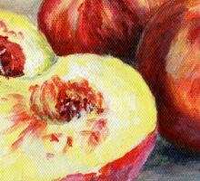 Peach Painting Sticker