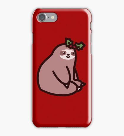 Holly Sloth iPhone Case/Skin