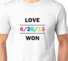 Love Won Unisex T-Shirt