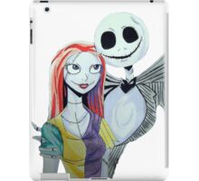 Sally and Jack from the Nightmare before Christmas iPad Case/Skin