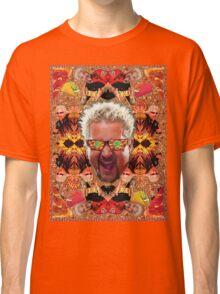 God Guy Fieri's Hot Dog Diggityverse Classic T-Shirt