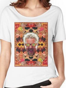 God Guy Fieri's Hot Dog Diggityverse Women's Relaxed Fit T-Shirt