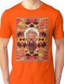 God Guy Fieri's Hot Dog Diggityverse Unisex T-Shirt
