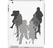 Tales of the Abyss cast silhouette iPad Case/Skin