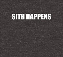 Sith Happens in white Unisex T-Shirt