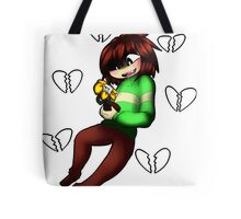 Undertale - Chara and Flowey Tote Bag