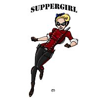 SupperGirl Photographic Print