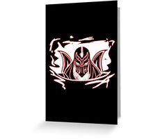 Zed neon Greeting Card