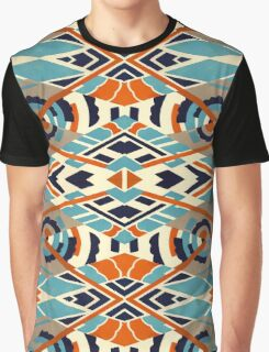 Art Deco Pattern Graphic T-Shirt