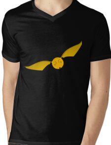 Snitch Yellow - huffl Mens V-Neck T-Shirt