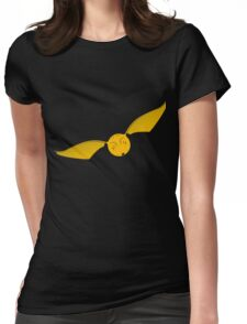 Snitch Yellow - huffl Womens Fitted T-Shirt
