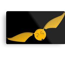 Snitch Yellow - huffl Metal Print