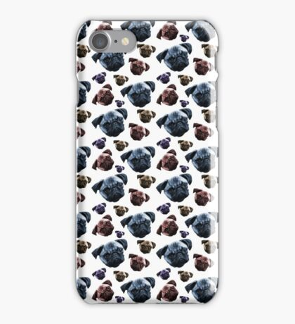 Pugs 4 Life iPhone Case/Skin