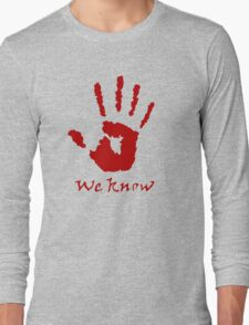 We Know Letter (Red) - The Dark Brotherhood T-Shirt