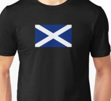 BIG St Andrew's Cross - Scottish Flag T-Shirt Bedspread Duvet Unisex T-Shirt