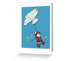 fly true Greeting Card