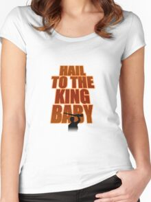 Evil Dead - Hail To The King Women's Fitted Scoop T-Shirt