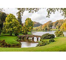 English Autumn Photographic Print