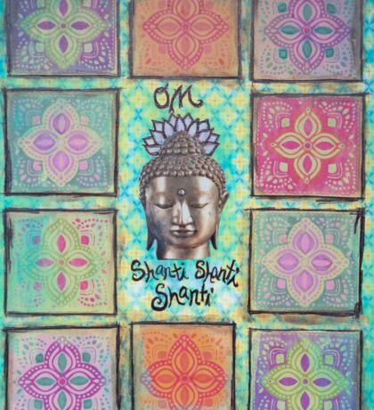 Om Shanti Shanti Shanti Sticker