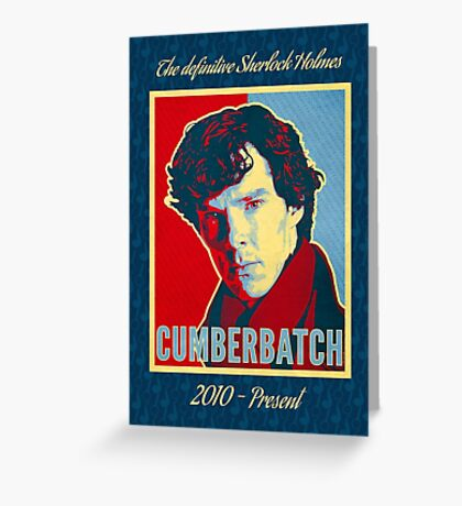 The Definitive Holmes BC - RYB Greeting Card