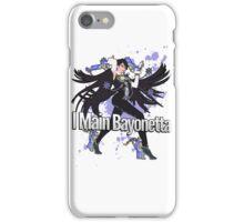 I Main Bayonetta - Super Smash Bros iPhone Case/Skin