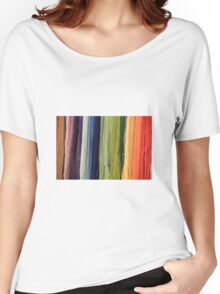 Weaving Rainbow Women's Relaxed Fit T-Shirt
