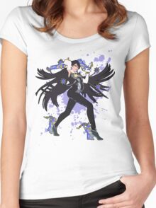 Bayonetta - Super Smash Bros Women's Fitted Scoop T-Shirt