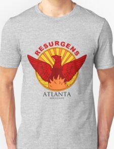 Atlanta Seal-Red lettering Unisex T-Shirt