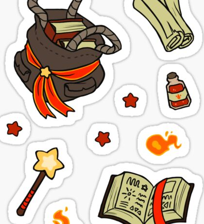 Beginner Mage's Tote Sticker