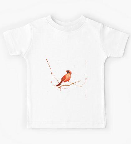 This Bird Is On Fire Kids Tee