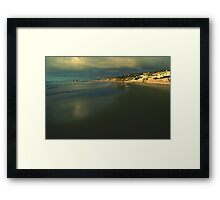 The Shores at La Jolla, California Framed Print