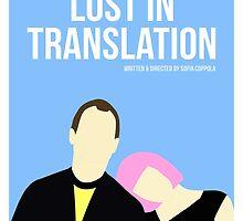 Lost In Translation film poster by PolarDesigns